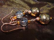 Handmade Hematite Drop/Dangle Costume Earrings