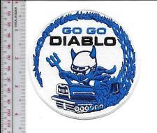 Snowmobile Bolens Diablo Rouge Hus-Ski  Promo Patch Pte Claire Quebec Canada blu