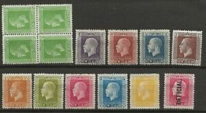 NEW ZEALAND KING GEORGE V MH STAMPS