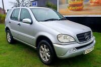 Mercedes-Benz ML270 2.7TD auto CDI Px Swap Motorcycle Anything considered