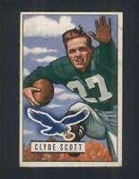 1951 Bowman #120 Clyde Scott VGEX Eagles 100411