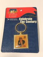 US postage 32 collectible Uncle Sam Key Chain in original package