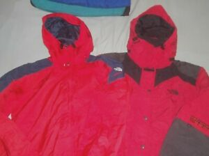TWO ! 2 The North Face Vintage Extreme Jacket Steep Tech Parka Coat TNF Gore-tex