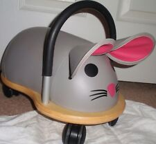 Prince Lionheart Wheely Bug Ride On Scooter Toy Toddler Gray Mouse 1.5 Years ++