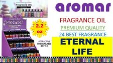 Aromar Aromatherapy Essential Fragrance 100% Concentrated Oil 2.2oz ETERNAL LIFE