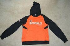 Reebok Cincinnati Bengals Women's Medium Hooded Sweatshirt Hoodie