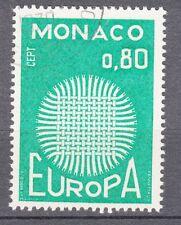 TIMBRE  MONACO OBL N° 820   EUROPA