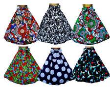 Faldas de mujer de color principal multicolor 100% algodón