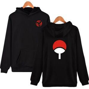 Anime Sweatshirt Uchiha Sasuke Hoodie Pullover Coat Unisex S-4XL