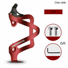 RockBros Bike Water Bottle Cage Bicycle Bottle Cage Holder Alloy One-Side Red