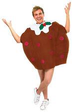 Noël marron # Pudding Unisexe Adulte Costume noël Nourriture déguisement