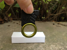 Single Finger Ring Cutting knife Mini outdoor survival Knife Tool Keychain EDC