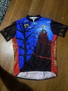 Voler Cycling Jersey Mens XL Halloween Spooktacular Kern Wheelmen