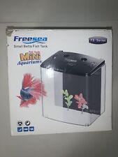 New listing Freesea Small Beta Fish Tank - Mini Desk Aquarium Fs-Series