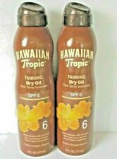 Hawaiian Tropic Spf 6 Tanning Dry Oil Clear Spray