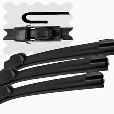 "For Seat Ibiza 1999-05 Front/Rear Windscreen 21"" 19"" 14"" Flat Aero Wiper Blades"