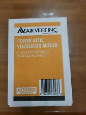 Air Vent Power Attic Ventilator 58061 120-Volt 5-3/8-In Dia Gable Vent Fan Motor