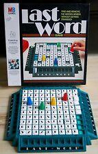 Última palabra juego MB-encontrar y eliminar palabras ocultas sin entrar en desuso! en muy buena condición