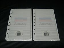 Vintage 1994 Franklin Covey Amway Day Planner 85 X 55 7 Hole Refill Pages