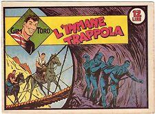 fumetto GIM TORO SERIE ROSA ORIGINALE ANNO 1948 N. 39