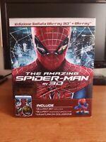 Amazing spider-man Uomo ragno edizione speciale italiana numerata bluray 3d