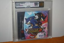 Sonic Adventure 2 (Sega Dreamcast) NEW SEALED MINT GOLD VGA 90+, RARE!