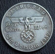 WW2 GERMAN COLLECTORS COIN EXONUMIA WIEN HITLER