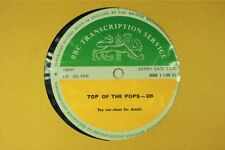 BBC 339 Transcription Disc TOP of POPS Live The FACES FREE Mick Jagger  Cochise
