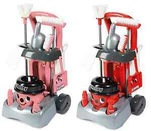 Henry Hetty Deluxe Cleaning Trolley Vacuum Cleaner Hoover Casdon Kids Fun Role