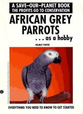 African Grey Parrots By Helmut Pinter