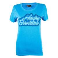 Sturgis Harley Davidson® Women's Outlined Blue T-Shirt