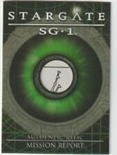 STARGATE SG-1 PROP RELIC CARD R13 AUTHENTIC PIECE OF MISSION REPORT 097/403