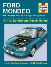 1923 Haynes Ford Mondeo Petrol (1993 - Sept 2000) K to X Workshop Manual