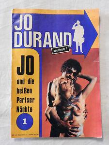 Jo Durand Nr. 1 - Jo und die heißen Pariser Nächte - Erotik Romanheft (A15)