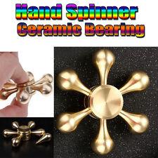 Christmas Gift Deals Hand Spinner Tri Fidget Ceramic Ball Desk Focus Toy EDC