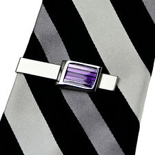 39addf35489a Broches y prendedores corbata púrpura para hombres