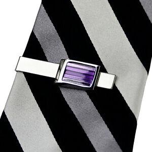Purple Tie Clip