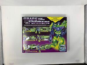 Hasbro Transformers G1 Constructicon Devastator Reissue Walmart Exclusive 6-Pack