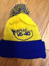 TEAMWD40 knitted  Wooly Bobble Hat Official teamwear Seen In British Superbikes