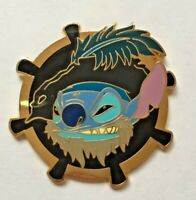 Disney Pin Badge Mystery Box Set - Stitch as Captain Barbossa only