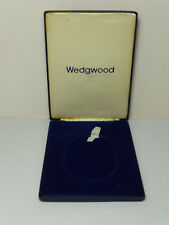 Wedgwood Jasperware Queen Elizabeth II Royal Silver Wedding Plaque Empty Case