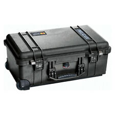 Pelican 1550 Carry on Equipment Empty Case Watertight and Crushproof Black