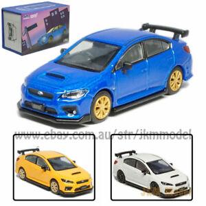 1:64 2016 Subaru Impreza WRX STI S207 Model Car Diecast Vehicle Collection Gift