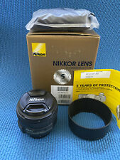 Nikon AF-S NIKKOR 50mm f/1.4G Lens with Hoya HD filters, US model VG cond  NICE!