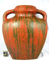 "Ruscha Keramik Kurt Tschörner ""Vulcano"" glaze pottery vase in a rare size 67"