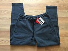 NWT Mens PUMA Charcoal Gray Exercise Fleece Tapered Leg Sweat Pants Size L Large