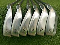 Canterbury Big Bursar Iron Set 5,7-PW+SW  /  RH  /  Stiff Graphite  / mm4058