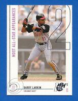 2002 Topps Ten #113 2/10 Barry Larkin Cincinnati Reds HOF NM-MT