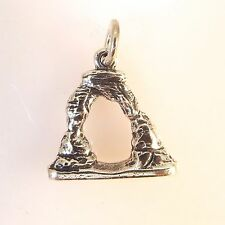 .925 Sterling Silver DELICATE ARCH CHARM NEW Pendant National Park Utah 925 NP04