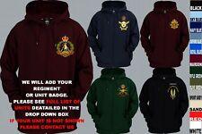 Units 1 To A Royal Australian Army Navy Air Force Reg Zip Up Hoody Xs To 5Xl